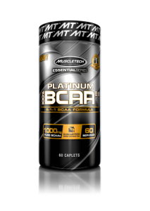 MuscleTech Platinum BCAA 8:1:1 60cap