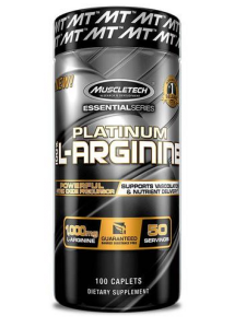 Muscletech Platinum 100% L-Arginine 100cap