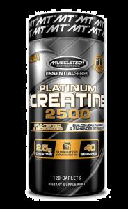 Muscletech Platinum 100% Creatine 2500 120 Capsules