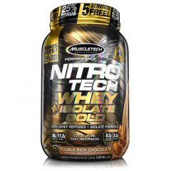 MuscleTech Nitro-Tech Whey+Isolate Gold 2lb