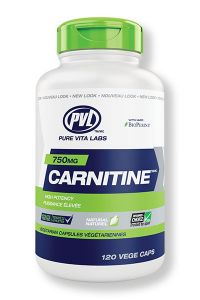 PVL Carnitine 750 120 Vege Caps