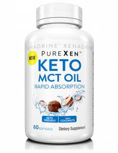 PureXen Keto MCT Oil 60 Softgels