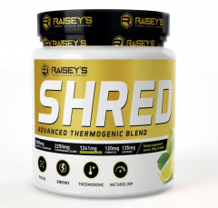 Raiseys Shred Advanced Thermogenic Blend 60 Serve