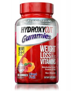 Hydroxycut Gummies + VItamins Mixed Fruit 90ct