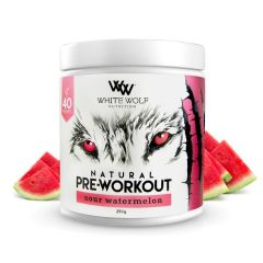 White Wolf Nutrition Natural Pre-Workout 40 Serve