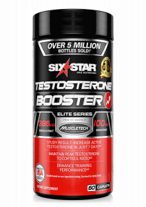 Six Star Elite Series Testosterone Booster 60cap