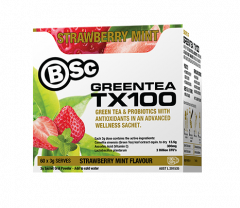 BSC Green Tea TX100 Probiotic Fat Burner 60 Servings