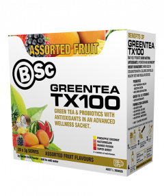 Bsc Green Tea Tx100 Probiotic Fat Burner 20 serve