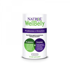 Natrol WellBelly™ Probiotics + enzymes