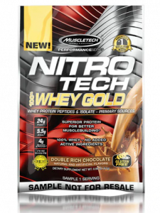 Muscletech Nitro-Tech Whey Gold 1 Serve