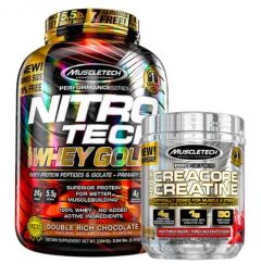 Muscletech Whey Gold 5.5lb + Creacore 50 Serve Bundle