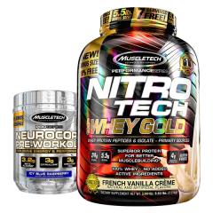 Muscletech Whey Gold 5.5lb Combo Deal 4