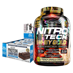 Muscletech Whey Gold 5.5lb Combo Deal 1