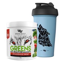 White Wolf Nutrition Greens Gut Health & Immunity 30 Serve