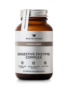Wild Nutrition Digestive Enzyme 90 Caps