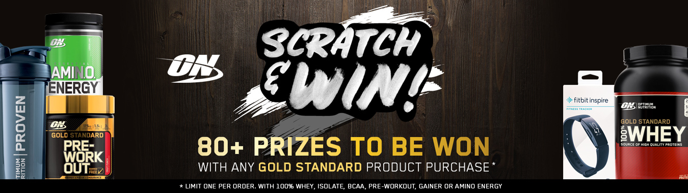 Optimum Nutrition Scratch & Win