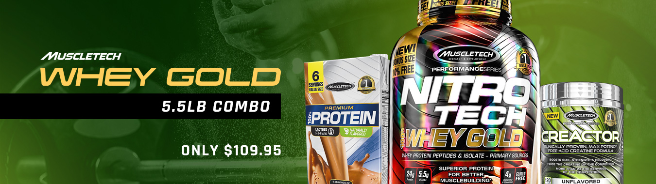 Whey Gold Combo