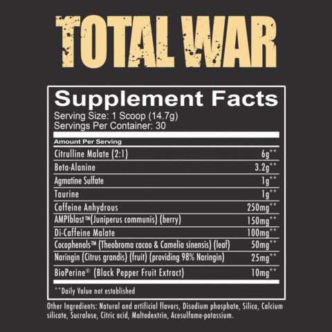 Total War Nutritional