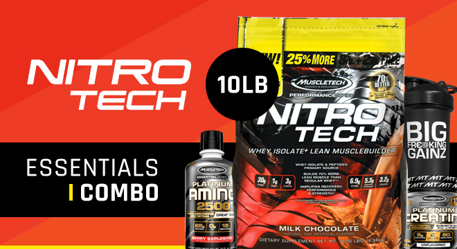 Muscletech Nitro-Tech Protein 10lb Bag