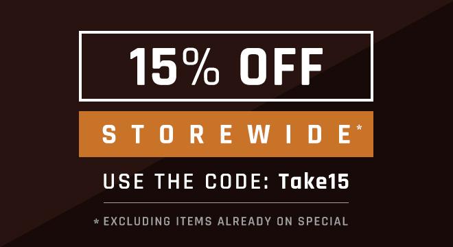 15% Off Storewide